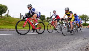 The Gran Fondo Giro d'Italia as it takes off from the Titanic Building and passes through the streets and roads of Northern Irealnd on June 05 2016 in Belfast , Northern Ireland ( Photo by Kevin Scott / Presseye)