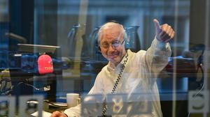Broadcaster John Humphrys has started declaring his political views after three decades working on BBC Radio 4's Today programme (Jeff Overs/BBC)