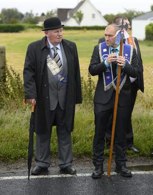 Ballymartin and Kilkeel 12th of July celebrations. Picture Mark Marlow