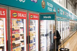 Poundland said it will install frozen and chilled food sections in 60 stores by the end of July (Poundland/PA)