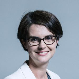 Norwich North MP and Cabinet Office Minister Chloe Smith, whose husband Sandy McFadzean claimed Covid-19 is 'likely an outbreak of mental illness' (UK Parliament/PA)