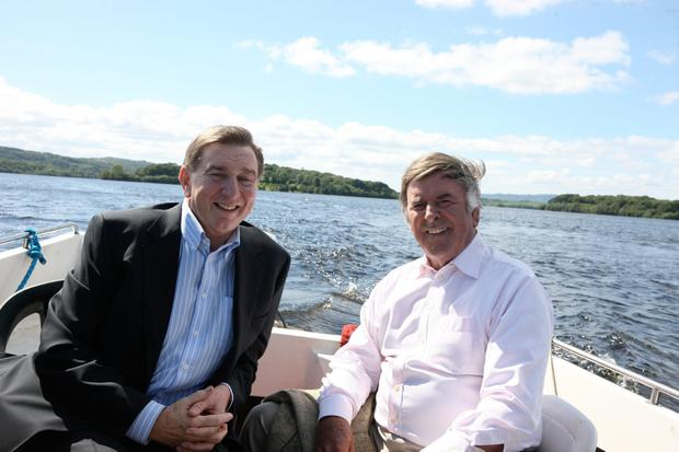 Terry Wogan with Fr Brian D'arcy