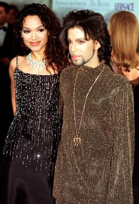 File photo dated 09/06/99 of Prince, with his former wife Mayte Garcia, as the singer has died at the age of 57, his publicist said. PRESS ASSOCIATION Photo. Issue date: Thursday April 21, 2016. His body was discovered at his Paisley Park compound in Minnesota, where his recording studio is located early on Thursday. See PA story DEATH Prince. Photo credit should read: John Stillwell/PA Wire