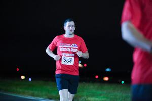 GRANT THORNTON RUNWAY RUN SCALES NEW HEIGHTS Competitors take part in last night's Grant Thornton Runway Run at Belfast City Airport. The hugely-popular event attracted a record number of runners as 600 local businessmen and women took part in the 5k run on the tarmac of the airport. Teams of four from organisations across a wide range of sectors came together for the third year of the leading business advisory firm's event.