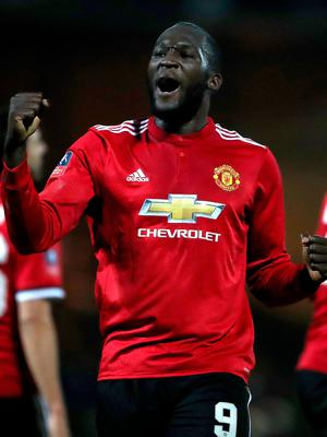 Stepped up: Romelu Lukaku left Chelsea in 2014