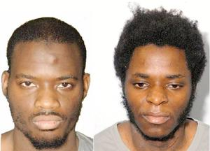 Michael Adebolajo (left) and Michael Adebowale (right), who were convicted of murdering soldier Lee Rigby.