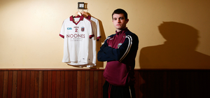 Top talent: Cormac O'Doherty in Slaughtneil's clubrooms