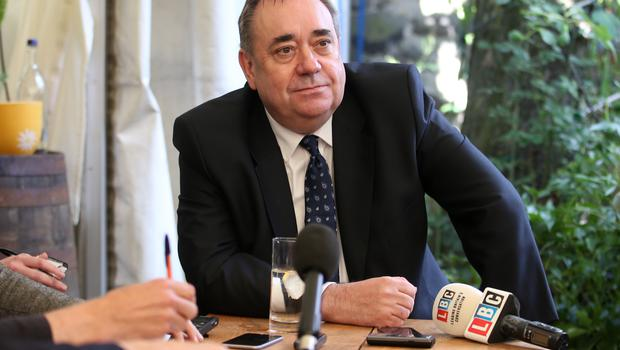 Mr Salmond is a former MP and MSP (Jane Barlow/PA)