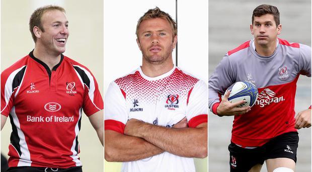 Stephen Ferris, Roger Wilson and Robbie Diack are the three options for blindside flanker.