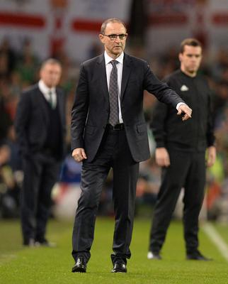 PACEMAKER BELFAST  15/11/18 Republic of Ireland v Northern Ireland International Friendly Republic of Ireland Manager Martin O'Neill during this evenings game  at the Aviva Stadium in Dublin. Photo Colm Lenaghan/Pacemaker Press