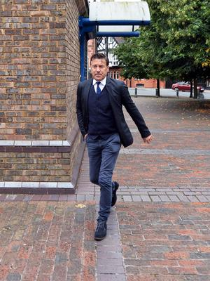 Dean Saunders' solicitor said they would be making a bail application pending an appeal against his sentence (Peter Powell/PA)