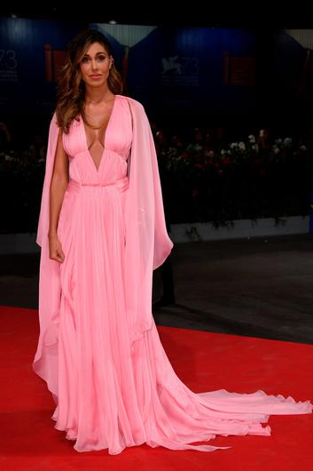 VENICE, ITALY - SEPTEMBER 01:  Belen Rodriguez attends the premiere of 'Arrival' during the 73rd Venice Film Festival at Sala Grande on September 1, 2016 in Venice, Italy.  (Photo by Ian Gavan/Getty Images)