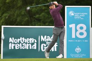USA golfer Tyler Koivisto won the Northern Ireland Open supported by the R&A in his first ever Challenge Tour start