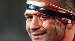 Heineken Champions Cup, Round 5, Kingspan Stadium, Belfast 12/1/2019 Ulster vs Racing 92 Ulster's Rory Best after the game Mandatory Credit �INPHO/Tommy Dickson