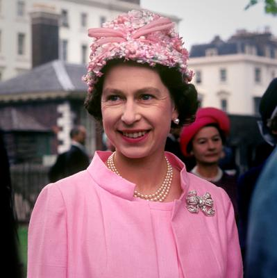File photo dated 01/06/1967 of Queen Elizabeth II at the garden party in the grounds of the Royal Hospital, Chelsea, London, to mark the 50th anniversary of women in active service, during the Second World War as she turns 90 on the April 21st. PRESS ASSOCIATION Photo. Issue date: Sunday April 3, 2016. See PA story ROYAL Birthday. Photo credit should read: PA Wire