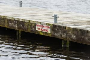 PACEMAKER BELFAST   13/04/2017 A jetty at Trory where the Devenish Island Ferry collects  people for trips to the island.   Picture: Ronan McGrade/Pacemaker Press