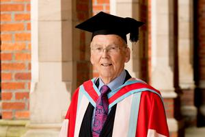 John Agnew CBE, Director of the Henderson Group, received his Honorary Doctorate from Queen's University Belfast for distinction to business and commerce.
