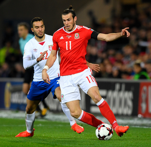 Injury nightmare: Gareth Bale is a major doubt for Wales' crucial World Cup qualifier against the Republic in Dublin in March