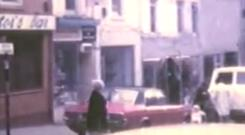 Old footage of Dungannon High Street in 1975