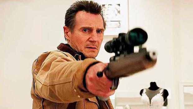 Racism storm: Liam Neeson  in new movie Cold Pursuit