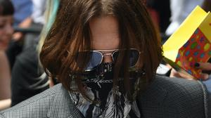 Johnny Depp arriving at the High Court in London (Kirsty O'Connor/PA)