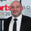 Fame game: ex-Ulster and Ireland rugby skipper Rory Best, who was inducted into the Hall of Fame, with wife Jodie and son Ben