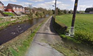 A man's body was recovered from River Bann near Huntly Road in Banbridge. Credit: Google Maps