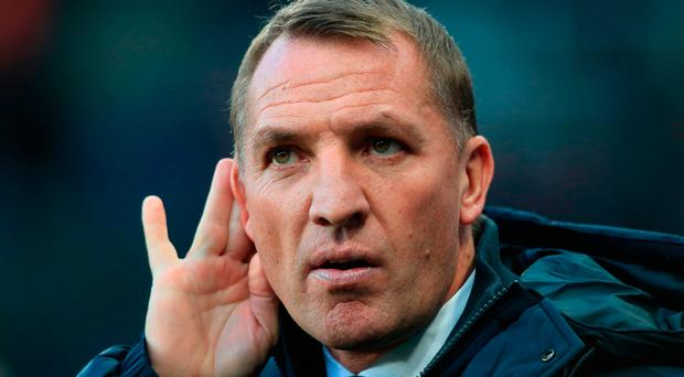 Firm stance: Brendan Rodgers