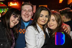 14 Mar 2020 People out at Limelight for AAA Saturdays. (Liam McBurney/RAZORPIX)