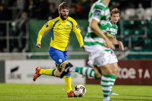 Paddy McCourt could make his final appearance for Finn Harps tonight.
