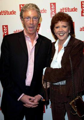 Paul O'Grady and Cilla Black arrive for Attitude Magazine's 10th Birthday Party at the Atlantic Bar & Grill in central London in 2004, to celebrate 10 years for the gay style magazine. Myung Jung Kim/PA Wire.