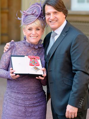Brave stance: Dame Barbara Windsor and her husband Scott Mitchell, who recently announced that his wife has Alzheimer's disease