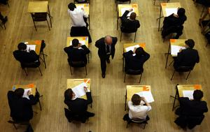 GCSE and A-level exams were cancelled amid the coronavirus pandemic.