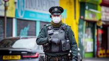 Police patrol Castle Street in Belfast on lockdown day 7 as the coronavirus pandemic in Northern Ireland continues on March 30th 2020 (Photo by Kevin Scott for Belfast Telegraph)