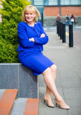 It's a busy time for UTV's deputy political editor Tracey Magee, but she is a huge fan of elections. ( Photo by Kevin Scott / Belfast Telegraph )