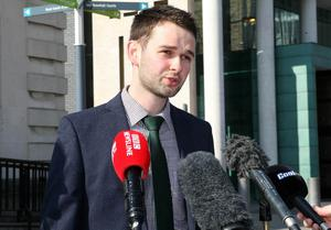 Mandatory Credit -  © Freddie Parkinson © Monday 9th May 2016 Belfast High Court Ashers Baking Company's appeal against a ruling which said that the business broke the law by declining to decorate a cake with a pro-gay marriage campaign slogan starts at Belfast High Court. Daniel McArthur