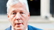 First Minister of Northern Ireland Peter Robinson outside 10 Downing Street, London. Photo: John Stillwell/PA Wire