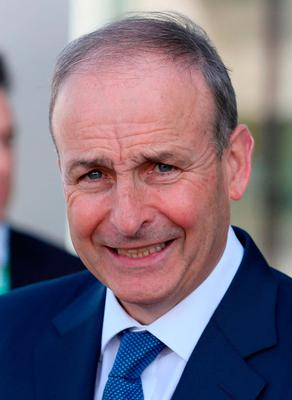 Concerned: Micheal Martin said the row was bad news for Northern Ireland
