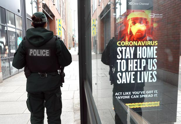 The PSNI has used anti-terror spying laws to investigate potential breaches of Covid regulations, it has been claimed. Photo: Stephen Davison/Pacemaker Press