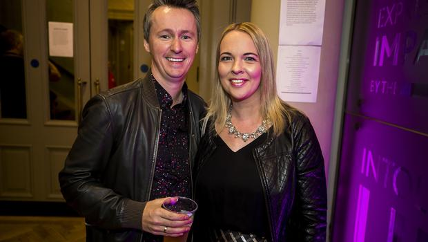Pictured fans Marty and Siobhan McColgan Belfast