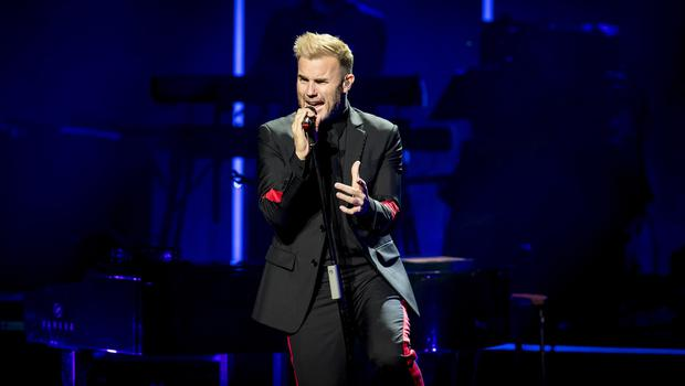 Gary Barlow performs at the Waterfront Hall in Belfast on May 7th 2018 (Photo by Kevin Scott / Belfast Telegraph)