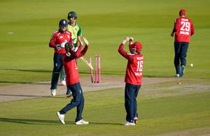 Moeen (left) revealed his admiration and respect for England skipper Eoin Morgan for his continued support (Jon Super/PA)