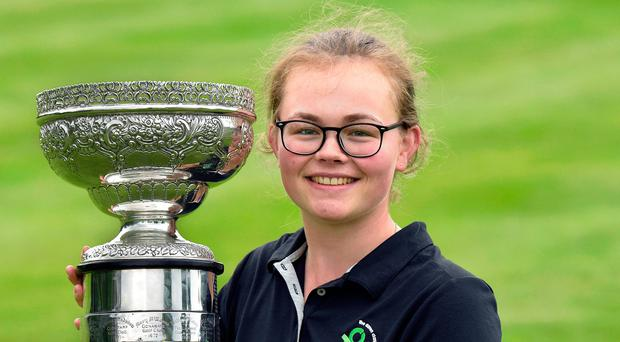 Annabel Wilson will be aiming for a Curtis Cup debut next year.