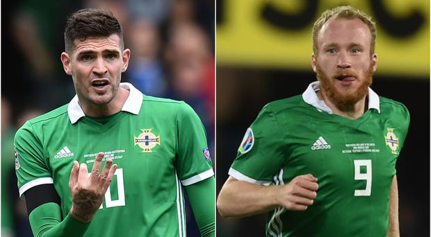 Kyle Lafferty and Liam Boyce are both attracting interest from Sunderland.
