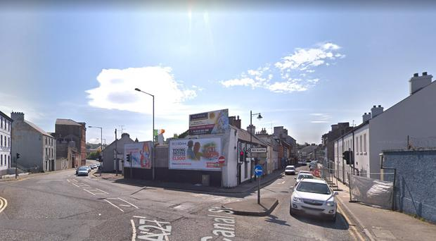 Canal Street in Newry. Credit: Google