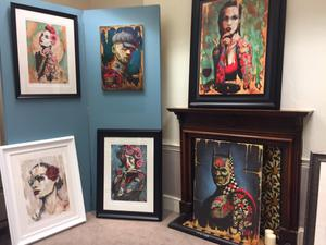 Some of the Terry Bradley work stolen.