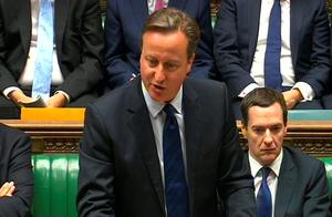 Prime Minister David Cameron speaks during Prime Minister's Questions in the House of Commons, London.PRESS ASSOCIATION Photo. Picture date: Wednesday September 9, 2015. See PA story POLITICS PMQs Cameron. Photo credit should read: PA/PA Wire