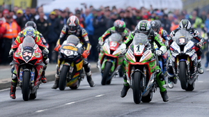 Riders at the 2019 North West 200