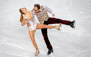 BT SPORTS PHOTOGRAPHER OF THE YEAR FINALIST Germany's Nelli Zhiganshina and Germany's Alexander Gazsi perform in the Figure Skating Team Ice Dance Short Dance at the Iceberg Skating Palace during the Sochi Winter Olympics on February 8, 2014. Picture: Adrian Dennis/AFP