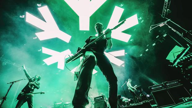 Sunday Life Bradley Quinn, Snow Patrol 25 Years in Pictures. Snowflake - Nathan Connolly